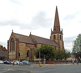 Church of Saint John the Baptist, Liverpool Church in Liverpool, England