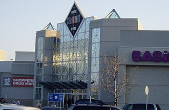 St. Laurent Centre - An entrance to the mall