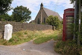 Norland, West Yorkshire - Image: St Luke's Church, Norland geograph.org.uk 35490
