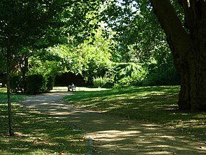 St Mary Magdalene Gardens on Liverpool Road, Highbury and Islington, London.jpg