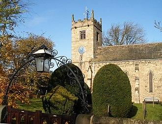 Collingham, West Yorkshire - Image: St Oswalds Church, Collingham