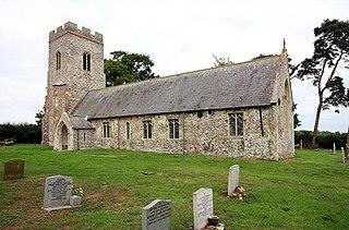 Carleton St Peter village in the United Kingdom