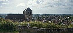 St Pierre de Gourdon (Lot) Gourdon vers le sud.jpg