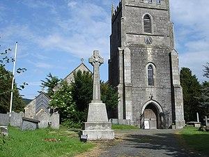 Llansilin - St Silin's Church.