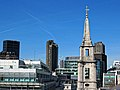 St Vedast Foster Lane church spire from One New Change 02.jpg
