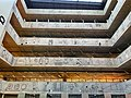 Stairs inside of the National Library of Technology, Prague (02).jpg