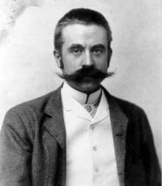 Stanford White - Photograph of White by George Cox, ca. 1892