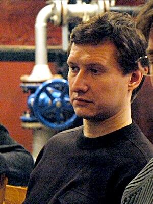 Stanislav Markelov - Stanislav Markelov at a Moscow seminar in Bilingua club on November 13, 2007