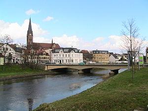 Staßfurt - View of the town