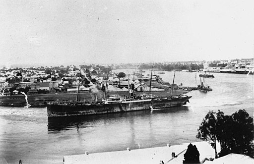 StateLibQld 1 167135 Early view of Kangaroo Point