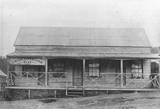 Thornborough, Queensland - Queensland National Bank, Thornborough, ca. 1888