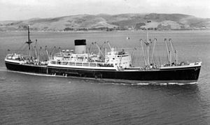 Shaw, Savill & Albion Line - Cammell Laird completed the cargo ship Persic for Shaw, Savill and Albion in 1949.