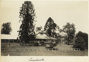 Cressbrook Homestead - Homestead at Cressbrook Station, 1930