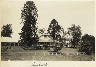 Cressbrook Homestead - Homestead at Cressbrook Station, 1930