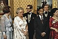 Statiefoto Koninklijke Familie en President Ziaur Rakm (Bangladesj) en echtgenot, Bestanddeelnr 253-8087.jpg