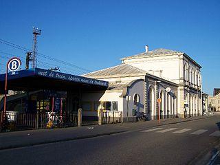 railway station in Belgium