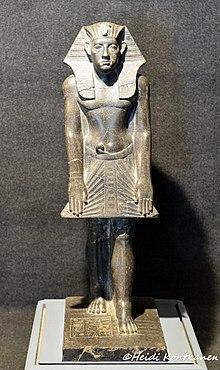 Статуя Аменемхата III, Луксорский музей