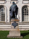 Statue of Gwilym Williams, Cathays Park.JPG