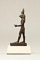 Statuette of Horus, lord of Sekhem (Letopolis) MET X.291 EGDP012279.jpg