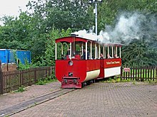 Steam tram, Telford Steam Railway by L S Wilson.jpg
