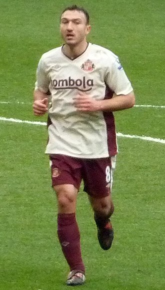 Steed Malbranque - Malbranque playing for Sunderland in 2011