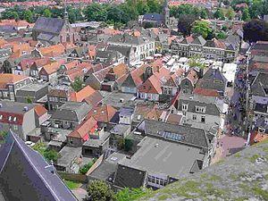Steenwijk - Image: Steenwijk centrum van boven