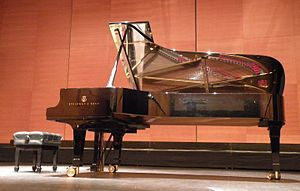 Steinway D-274 - D-274 that exemplifies the products of Steinway's factory in Hamburg, Germany