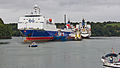 Stena Scotia and other ships moored in Carrick Roads-8758.jpg
