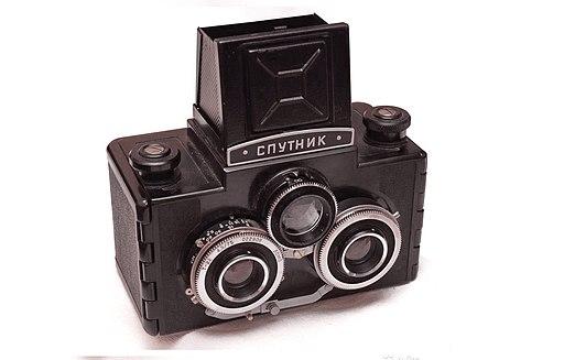 Stereo camera-Sputnik