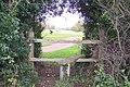 Stile near Broke Hill Golf Course - geograph.org.uk - 1574656.jpg