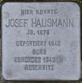 Stolperstein Karlsruhe Hausmann Josef.jpeg