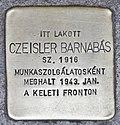 Stolperstein für Barnabas Czeisler (Miskolc).jpg