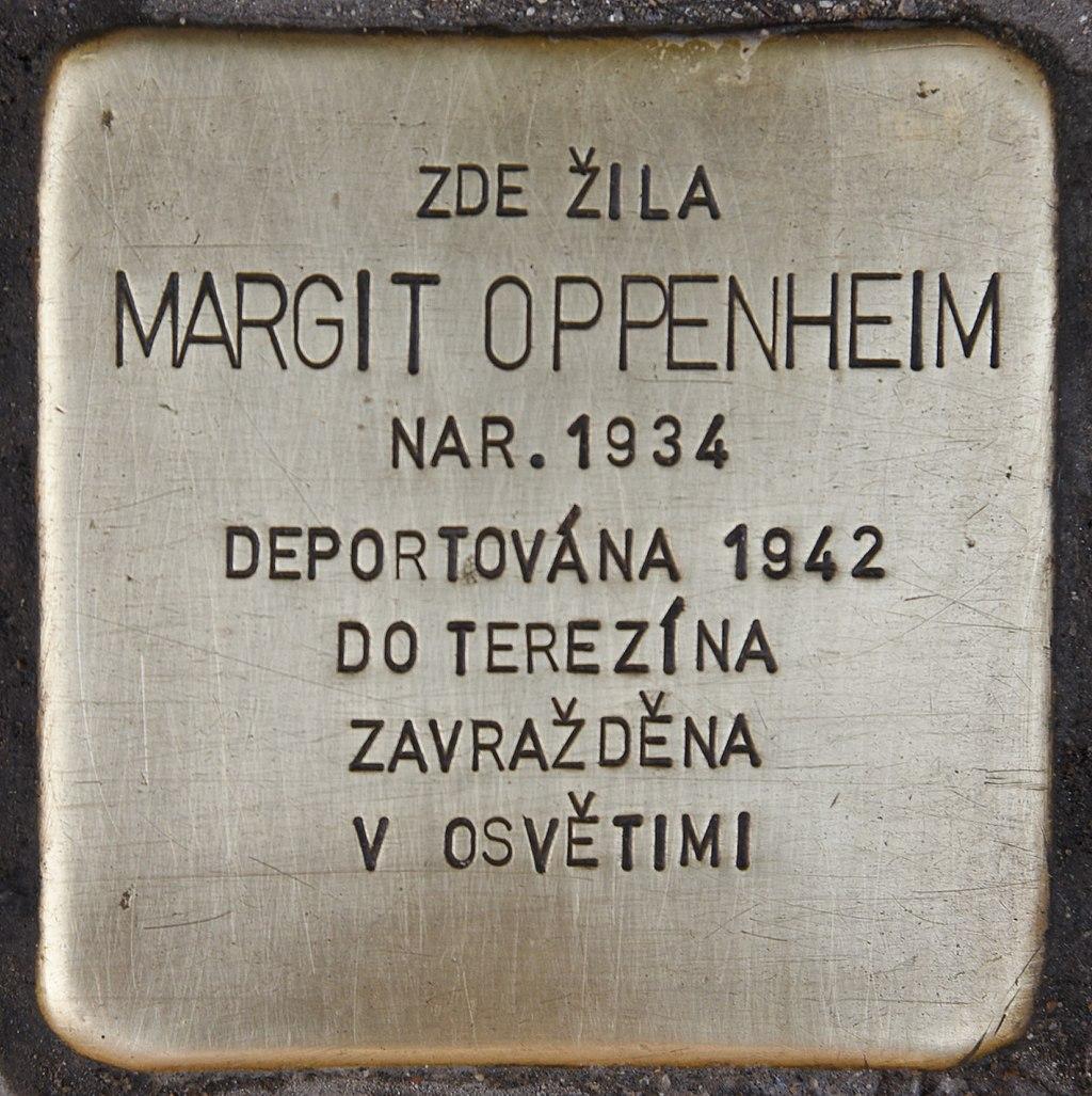 Stolperstein für Margit Oppenheim (Brno).jpg