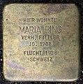 Stolpersteine Köln, Maria Bing (Oberländer Ufer 208).jpg