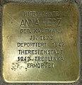 Stolpersteine Krefeld, Anna Herz (Bahnhofstraße 48).jpg