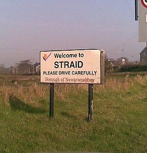 Straid - Image: Straid