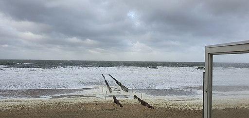 Strand Westduin bij Dishoek, Zeeland