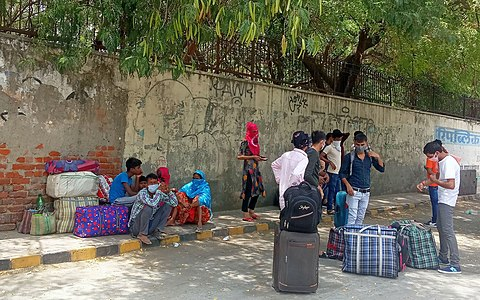 Stranded migrant workers during fourth phase of the lockdown IMG 20200523 125500.