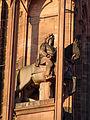 Strasbourg, cathédrale Notre-Dame, statue de Louis XIV sculptée par Jean-Baptiste Vallastre.jpg