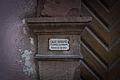 Strasbourg plaque émaillée église réformée d'Alsace Lorraine.JPG