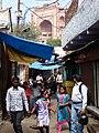 Street Scene with Jama Masjid Mosque at Rear - Fatehpur Sikri - Uttar Pradesh - India (12635379584).jpg
