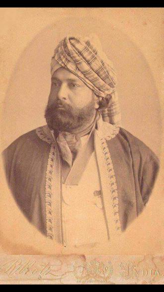 Khan Bahadur Raja Jahandad Khan - Image: Sultan jahandad khan
