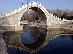 Jade Belt Bridge - Image: Summer palace Bridge 3