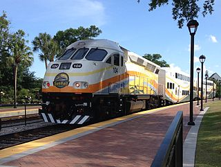 SunRail commuter rail system in the Greater Orlando