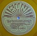 "Sun Record label for The Legendary Hank C.Burnette's 1979 album ""Don't mess with my ducktail"".jpg"