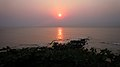 Sunrise view over Bay of Bengal at Vizag.JPG