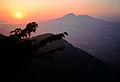 Sunset and Vesuvius (4786628824).jpg