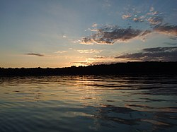 Sunset at Negwegon State Park - panoramio.jpg