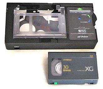 VHS-C - Image: Super VHS Compact 001 Mini Version