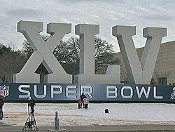 Super Bowl XLV marquee at Cowboys Stadium.jpg